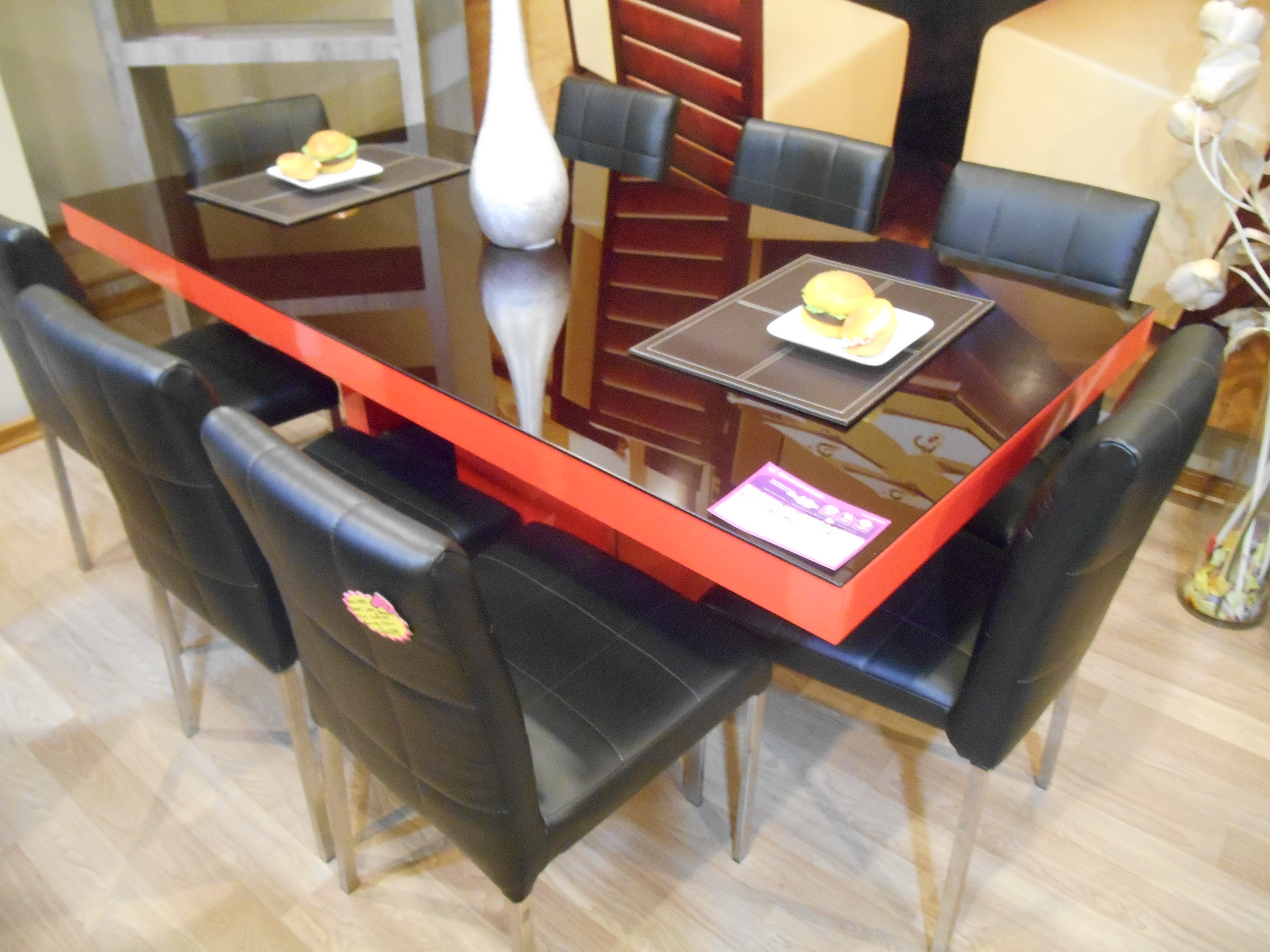 Sibling Dining Table 8 Chairs
